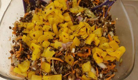 recettes-ludo-salade-lentille-choux-carottes-poivrons