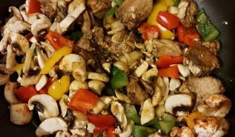 recettes-ludo-poulet-vinaigre-balsamique-3-poivrons